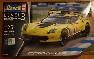 REVELL 07036 Corvette C7 R Bausatz 1:25 NEU