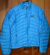Patagonia Women's Down Sweater Jacket Puffer Size M Blue