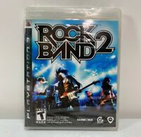Rock Band 2 PlayStation 3 PS3 Game Factory Sealed