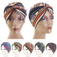 Women Hair Loss Scarf Cancer Chemo Cap Muslim Turban Hat Hijab Head Wrap Covers