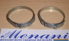 50 year old NOS Ceriani fork boot clamps 49mm diameter fit 30mm 32mm fork tubes