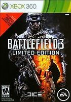 Battlefield 3: Limited Edition (Xbox 360 Game, 2011) Usually ships in 12 hours!!