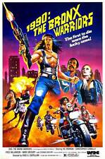 1990: THE BRONX WARRIORS Movie POSTER 27x40 Vic Morrow Christopher Connelly Fred
