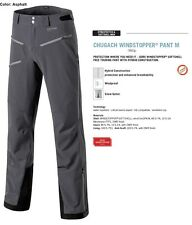 NEW Dynafit Chugach Softshell Windstopper Gray Mens Large Ski Pants 2016 Ret$350