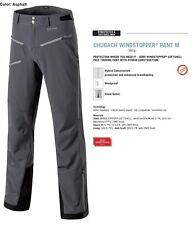 NEW Dynafit Chugach Softshell Windstopper Gray Mens Large Ski Pants 2016 Ret$350