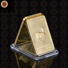 WR Africa King SA Lion Gold Bar Wild Animal Bullion Bar Collection Gifts for BF