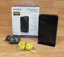 Genuine Netgear (CM500) 16 x 4 Channel Bonding 680mbps Cable Modem **READ**