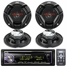New DEH-X6000BT Car In Dash CD MP3 USB AUX Stereo W/Bluetooth 4 2-WAY Speakers