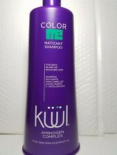 COLOR ME MATIZANT SHAMPOO KUUL FOR GRAY, BLOND OR BLEACHED JUNBO SIZE 33.8 FL O