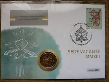 Vaticano NUMISBRIEF 2 € FILATELICA 2013