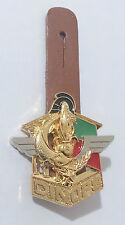 insigne de poitrine + cuir  du 6°REG / DINOPS Légion Étrangère - Y.Delsart