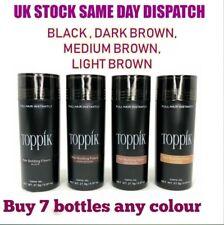 Toppik Hair Building Fibres 27.5 - Buy 7 Bottles Any Colour -Same Day shipping