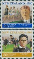 New Zealand 1990 SG1559-1560 Health Sportsmen set MNH