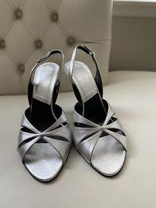 BNWB Dior Glam Strap Open Toe Heels. Size 40