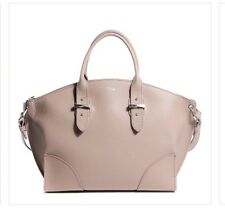 "BNWT Alexander MCQueen ""Legend"" Large.Calf Grain Leather Bag Taupe  $2195 Retail"