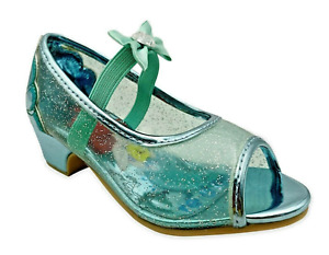 Girls Disney Princess Shoes Toddler Size 7 8 9 10 11 12 Ariel Little Mermaid NWT