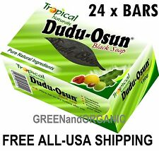 24 Bars Authentique Dudu-Osun Pur Savon Noir Africain Base de Plantes Naturel