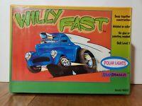 Vintage Polar Lights Snap Dragg in Willy Fast model car kit 6001F SEALED NIB