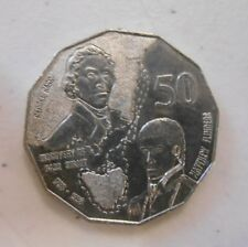 """1998 50 cent 50c coin """" BASS and FLINDERS """" COMMEMORATIVE COIN"""