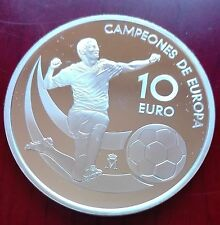 España campeones de Europa año 2012,Moneda de  plata,envío carta certificada.