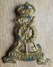 Original Pioneer Corps Cap Badge