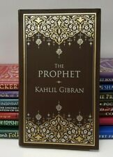 *New Leatherbound* THE PROPHET by Kahlil Gibran (Pocket Size)