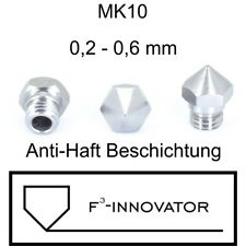 MK10 Düsen - Messing beschichtet