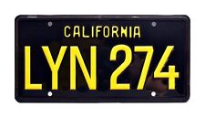 Gone in 60 Seconds | Eleanor '67 Mustang | LYN 274 | STAMPED Prop License Plate
