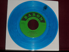 "LITTLE JIMMY & THE HOMEWRECKERS ""I'm On Fire"" Baron EP 505 Blue Wax!"