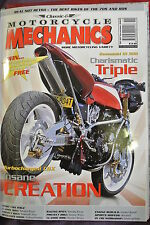 Classic Motorcycles Mechanics Magazine. No. 193, November 2003. Turbocharged CBX