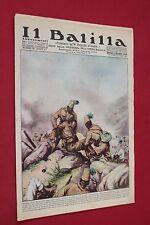 rivista a fumetti IL BALILLA Supplemento Popolo d'Italia ANNO XV N.28 (1937)