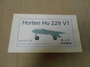A+V Models Horten Ho229 V1 Resin Multi Media 1/72