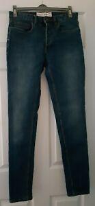 Topman stretch skinny blue jeans W30 L32 never worn
