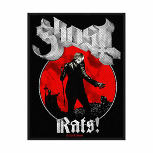 GHOST RATS OFFICIAL LICENSED SEW ON PATCH HEAVY METAL BAND BADGE DOOM NEW