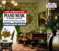 Piano Music in America 1900-1945 (CD, Oct-2007, 3 Discs, Vox)