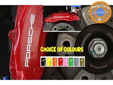 6 x Porsche Brake Caliper Decals Stickers calipers Hurry Limited Stock