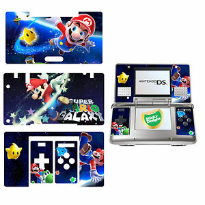 Super Mario Vinyl Designfolie Aufkleber Für Nintendo DS Original