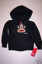 NWT Small Paul Frank Girl Julius Monkey Hoodie Sweatshirt 3 3T Black New