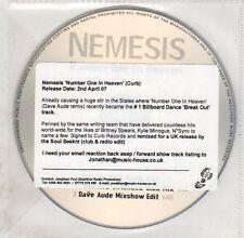 (EG549) Nemesis, Number One In Heaven - 2007 DJ CD