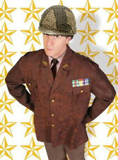 U.S. Military Jacket Brown General Dress Up Halloween Adult Costume Accessory