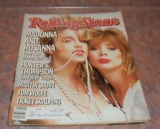 May 9 1985 issue of Rolling Stone Madonna Cover