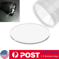 "Weltool Upgraded Optic Tempered Flashlight Glass Lens For 2.0"" D&C Cell Maglite"