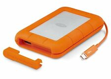LaCie Rugged 1TB Thunderbolt & USB 3.0 For Mac & PC Portable External Hard Drive