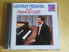 MURRAY PERAHIA - Plays Franck & Liszt - CD Album - 1991