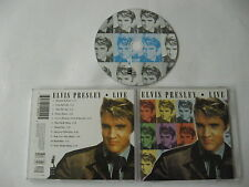 Elvis Presley - live - CD Compact Disc
