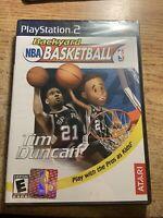 Backyard NBA  Basketball 2007 Sony PlayStation 2 PS2 Black Label  Sealed New