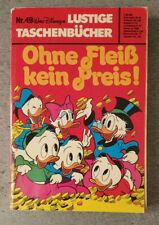 Erstausgabe/Erstauflage - LTB Nr. 49 - 4,50 DM / 1977 - Lustiges Taschenbuch