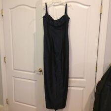 *WOW* Jessica/Scott McClintock Dress/Gown w/Shawl-Size 8-Dark Nvy Blue-Free Ship