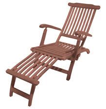 jardin Chaise Phoenix dos triple réglable pied relaxliege bois