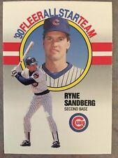 1990 Fleer All-tar Insert Baseball Card #9 Ryne Sandberg Chicago Cubs HOF NM/MT